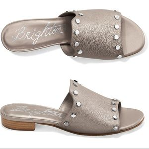 "Brighton ""Night"" Studded Leather sandals size 9.5M"